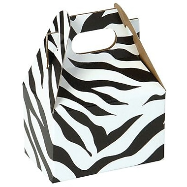 Shamrock Gable Box - 4in., Zebra Stripes