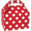 Shamrock Gable Box - 8in., Cheery Dots