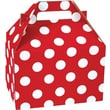 Shamrock Gable Box - 8in., Cheery Dots