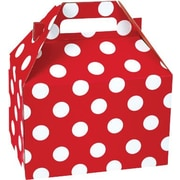 "Shamrock Gable Box - 8"", Cheery Dots"