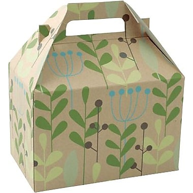 Shamrock Bistro 2 Go 8in. Gable Box, Leaves and Berries