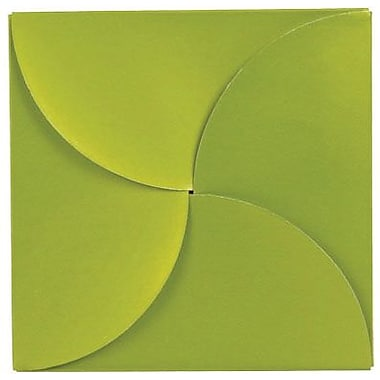 Shamrock 6in. x 6in. Gift Card Folder and Holder, Shimmer Frost Leaf
