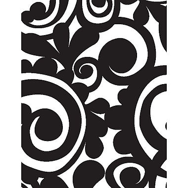 Shamrock Bold Scroll Gift Wrap, Half Ream Roll
