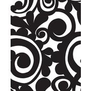 Shamrock Bold Scroll Gift Wrap, Half Ream Roll