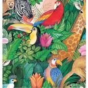 Shamrock Jungle Paradise Gift Wrap, Half Ream Roll