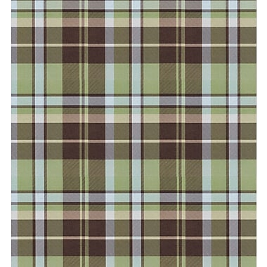 Shamrock Kensington Plaid Gift Wrap, Half Ream Roll