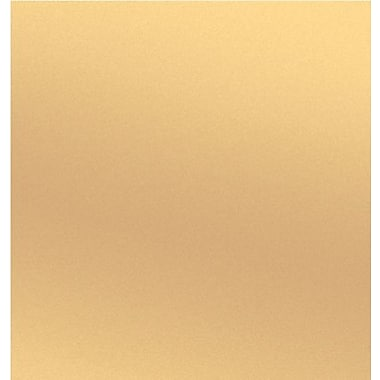 Shamrock Gold Metallized Gift Wrap, Kraft Half Ream Roll