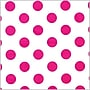 Shamrock Printed Tissue, Polka Dot Hot Pink