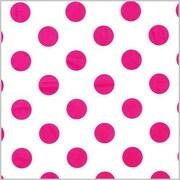 Shamrock Printed Tissue, Polka Dot Hot Pink