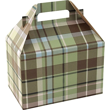 Shamrock Gable Box - 8in., Kensington Plaid