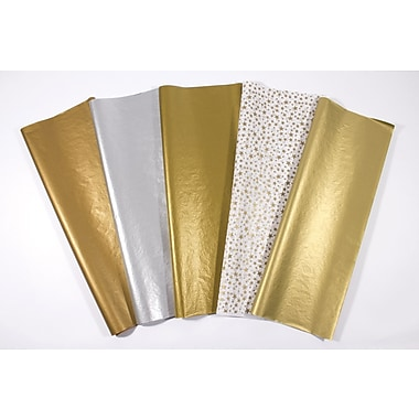 Shamrock Precious Metals Tissue, Gold Star