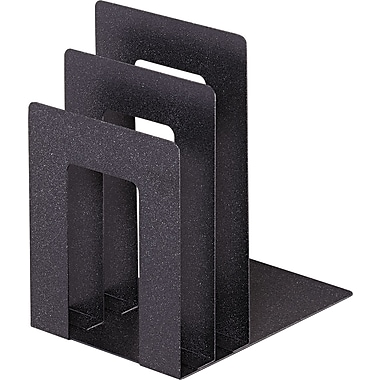 MMF SteelMaster Soho Collection Square Bookend Sorter, Granite