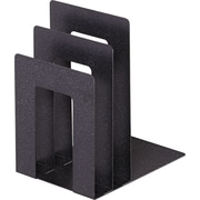 MMF SteelMaster® Soho Collection Square Bookend Sorter, Granite