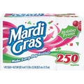 Mardi Gras Paper Napkins, 1-Ply, Holiday Prints, 250/Pack