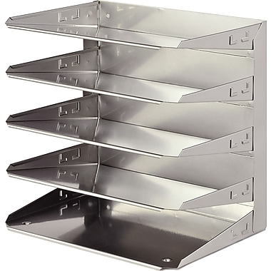 Soho Collection 5-Tier Organizer, Silver