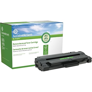 Sustainable Earth by Staples Remanufactured Black Laser Toner Cartridge, Dell 1130 (SEBD1130R)