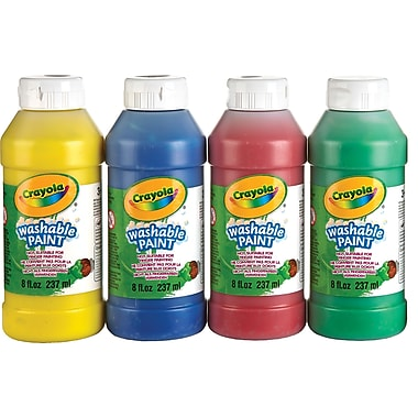 Crayola® Washable Paint, Assorted, 237 mL