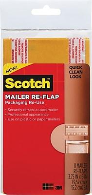 Scotch Mailer Re Flaps Manila 3 3 4 x 6 Small 8 Pack