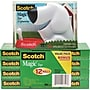 Scotch Dog Tape Dispenser Free With 12 Rolls