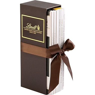 Lindt Excellence Assorted Chocolate Bars Gift Box, 6 Bars/Box