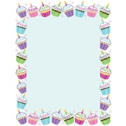 Great Papers® Cute Cupcake Letterhead, 100/Pack
