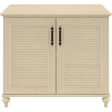 kathy ireland by Bush Volcano Dusk Storage Cabinet, Driftwood Dreams