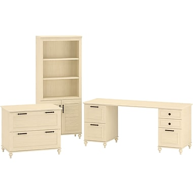 kathy ireland by Bush® – Mobilier de bureau Office Suite 1, Volcano Dusk, fini Driftwood Dreams