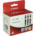 Canon CLI-226 Color C/M/Y Ink Cartridges (4547B005), 3/Pack