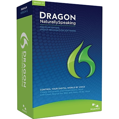 Dragon NaturallySpeaking 12 Premium for Windows (1-User) [Boxed]
