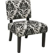Office Star Avenue Six® Wood Jasmine Accent Chair, Paradise