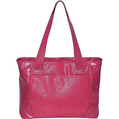 Buxton Regina Crocodile Tote, Pink