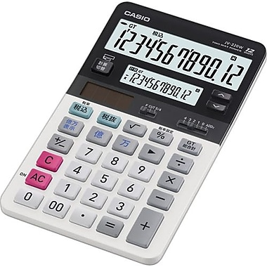 Casio® JV-220 12-Digit Display Calculator