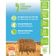 Step Forward 80% Wheat Straw FSC-Certified Copy Paper, TRIAL PACK