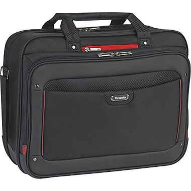 SOLO Sterling 16in. Briefcase, Black/Red