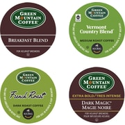 Green Mountain Coffee® Regular Variety Pack Coffee K-Cup® Packs, 88/Ct