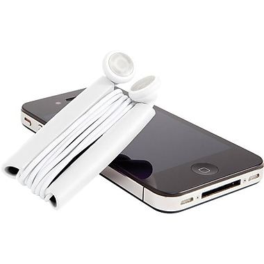 Quirky Wrapster Earbud Cord Management Solution, White