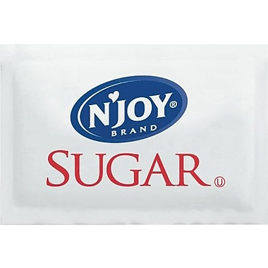 Sugarfoods N'Joy Pure Cane Sugar; Packets, 2000/Box