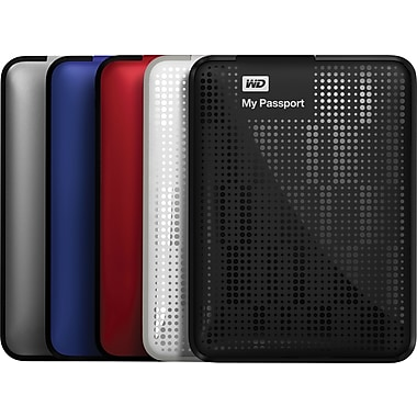 WD My Passport 500GB Portable USB 3.0 External Hard Drives