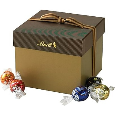 Lindt LINDOR Chocolate Truffles Classic Gift Box, Assorted, 45 Truffles/Box