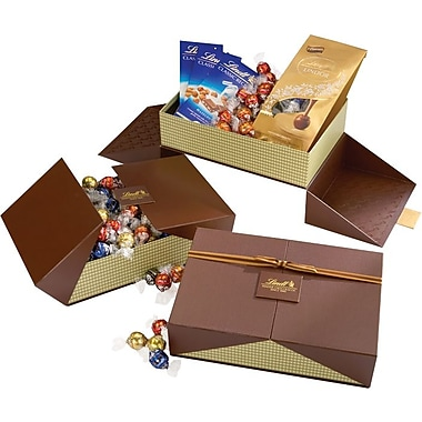 Lindt Classics Chocolate Bars and LINDOR Chocolate Truffles Sweet Treat Gift Box
