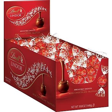 Lindt LINDOR Truffles, 120 Truffles/Box