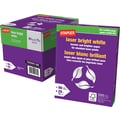 Staples FSC-Certified Bright White Laser Paper, 28 lb., 8-1/2in. x 11in.