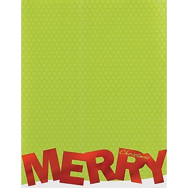 Great Papers® Merry Christmas Foil Stationery