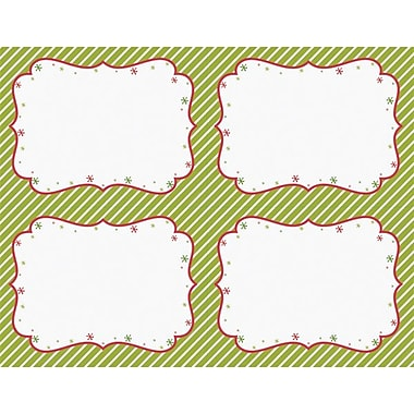 Great Papers® Peppermint Twist 4-Up Postcards