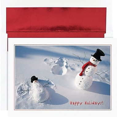 Great Papers­­® Snowman Angels Boxed Holiday Cards & Envelopes
