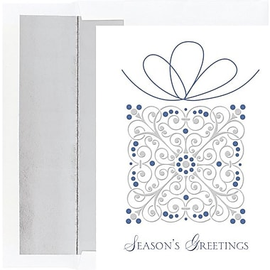 Elegant Present Boxed Holiday Cards & Envelopes