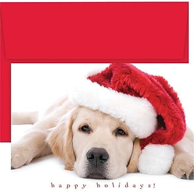 Great Papers® Santa Puppy Boxed Holiday Cards & Envelopes