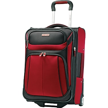 Samsonite Aspire Sport , 21in. Upright Luggage, Red/Black
