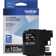 Brother LC103 Black Ink Cartridge (LC103BK), High Yield