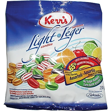 Kerr's Light Candies, Assorted - No Sugar Added